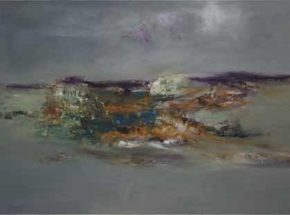 coastal landscape by gerald davis
