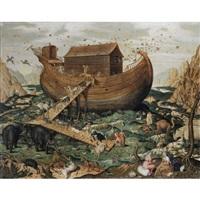 l'arche de noé sur le mont ararat by simon myle