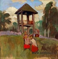 old latvian women by eduard brencen