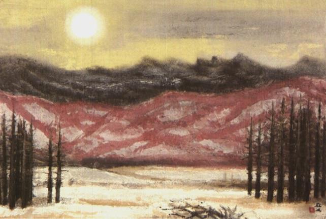 sunset by kyujin yamamoto