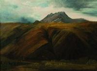paysage d'auvergne by théodore rousseau