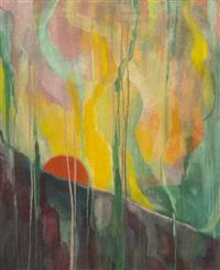 metaphysical sunrise by stanton macdonald-wright