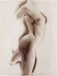 nude in motion by heinz hajek-halke