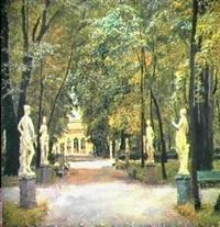 le jardin de sculptures by victor teterine