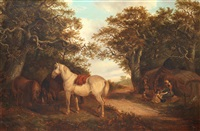 a rest by the wayside by thomas smythe