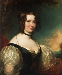 portrait of fanny mayor by james godsell middleton