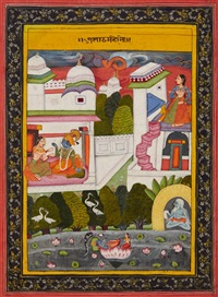 a provincial bundi barahmasa painting by anonymous-indian (19)