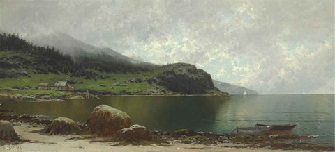grand manan by alfred thompson bricher