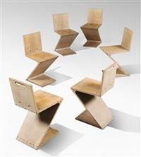 Sedia Design Rietveld.Gerrit Rietveld Artnet
