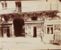 hôtel de trudon - sommelier de louis xv - rue de l'arbre sec 52 (1e), paris by eugène atget