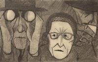 spectators by john brack