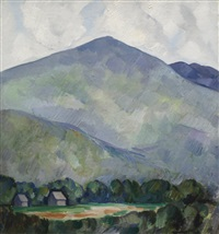mountains no. 23 (mountain landscape) by marsden hartley
