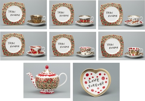 the me that i adore grand set by yayoi kusama