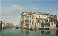 the grand canal, venice by federico del campo