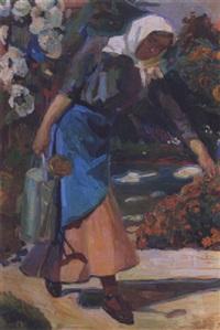 in the garden by nicolas lytras