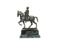 model of the equestrian monument to bartolomeo colleoni by andrea del verrocchio