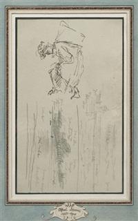 pêcheuse de moules, panier sur le dos by alfred stevens