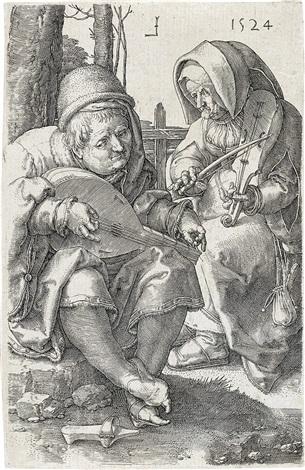 musicians by lucas van leyden