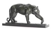 model of prowling panther by andré vincent becquerel