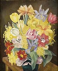 blomsterstilleben by lydia dmitrievsky