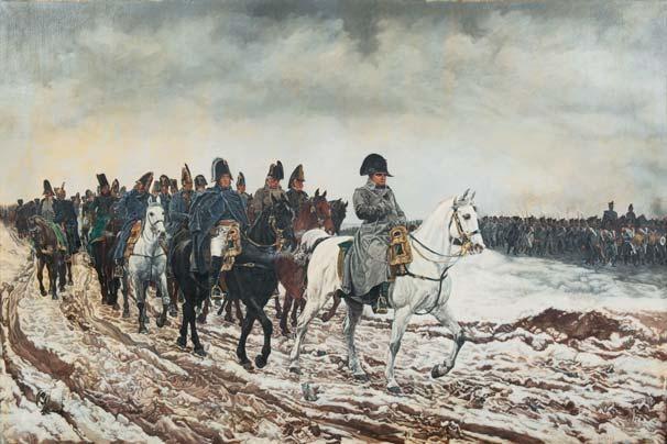 napoléon la campagne de france de 1814 by jean louis ernest meissonier