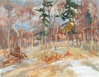 last snow by orestes (rick) nicholas de grandmaison
