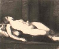 desnudo femenino by angel cabanas oteiza