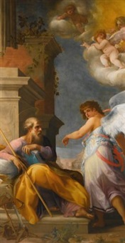 the dream of saint joseph by cavaliere giovanni baglione