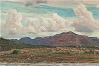 new mexico landscape by lloyd lozes goff