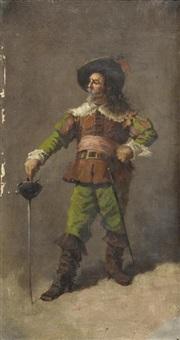 le mousquetaire by nicolas toussaint charlet
