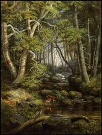 landscape by joseph julius humme