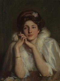 a young lady by william thomas smedley