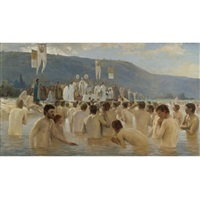 the baptism of russia by vassily ivanovich navozov