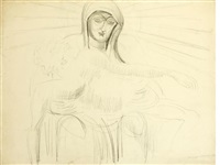 mater dolorosa by sir jacob epstein