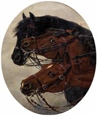 pferdeköpfe by caspar von reth