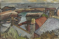 harbor st. abbs by john mcnairn