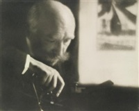 self-portrait by pierre dubreuil