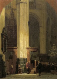 the commence of the service by jan jacob schenkel