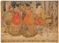 carol singers by annie french