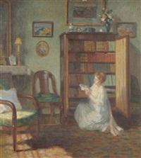 la lecture by francois henri morisset
