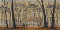 le jardin du luxembourg by voldemar bobermann