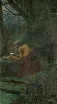a hermit by karel rasek