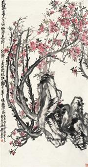 龙华风趣 立轴 纸本 by zhao yunhe