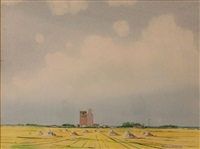 prairies- sun by robert newton hurley