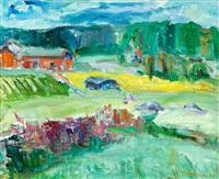 summer landscape by taisto ahtola