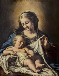 virgin and child by bartolomé esteban murillo