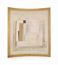 october (composition-rangitane) by ben nicholson