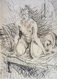 figura de mulher by flavio de carvalho