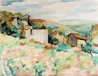 paysage du midi by serge fotinsky