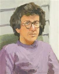 portrait of kenneth koch by fairfield porter